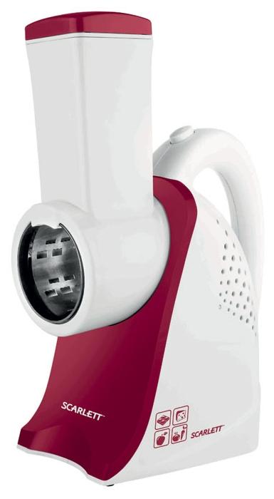 Измельчитель Scarlett SC-KP45S01, белый/красный