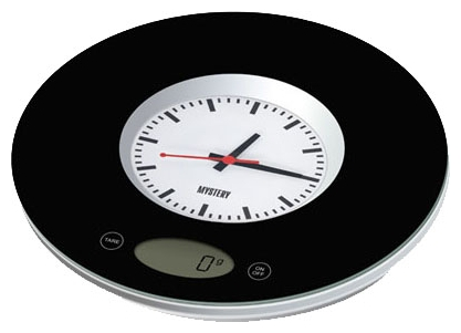 Кухонные весы Mystery MES-1814, черные