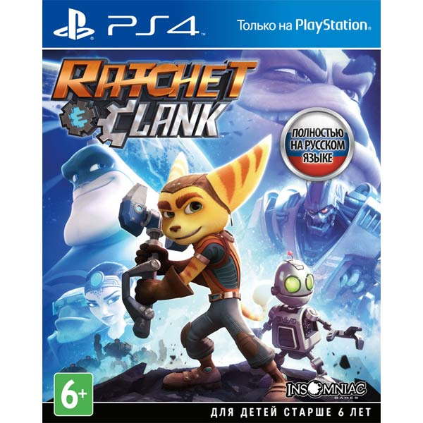 Игра для PS4 SONY Ratchet & Clank