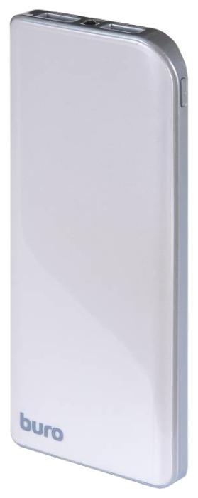 Аксессуар для телефона BURO Мобильный аккумулятор RA-8000 (8000 mAh), серебристый