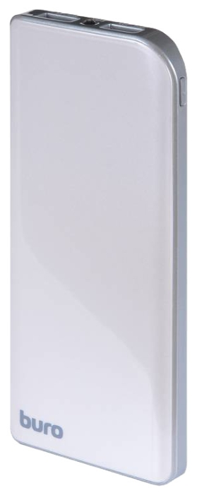 Аксессуар для телефона BURO RA-8000 (8000 mAh), серебристый