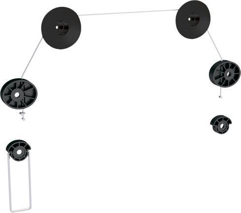"""Кронштейн Arm-media LED-3 черный 26""""-63"""" макс.50кг настенный фиксированный"""