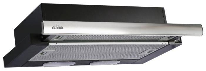 ELIKOR Интегра 50П-400-В2Л черная/нерж 1