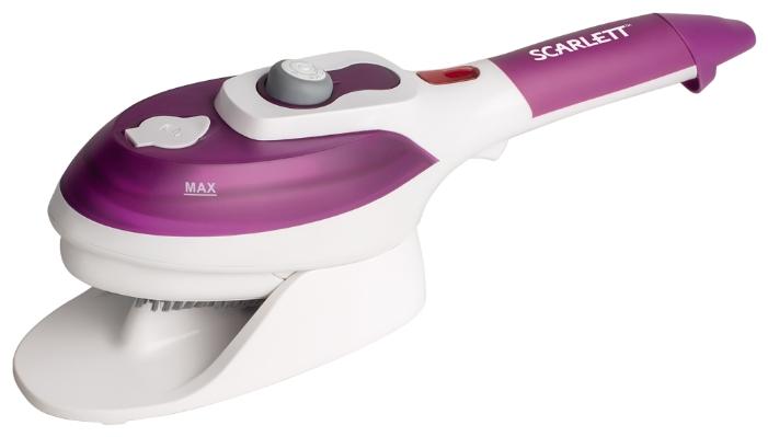 Пароочиститель-отпариватель Scarlett SC-SB23201, фиолетовый/белый