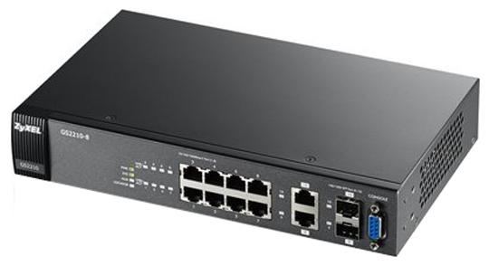 Коммутатор (switch) ZyXEL GS2210-8 (управляемый)