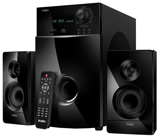 Компьютерная акустика Sven MS-2100, черная SV-012236