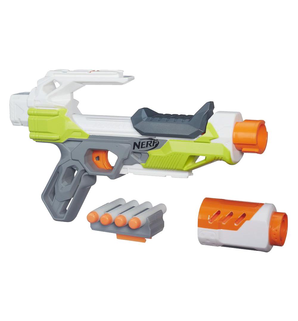 Товар для детей Hasbro Nerf Модулус АйонФайр (бластер), разноцветный B4618