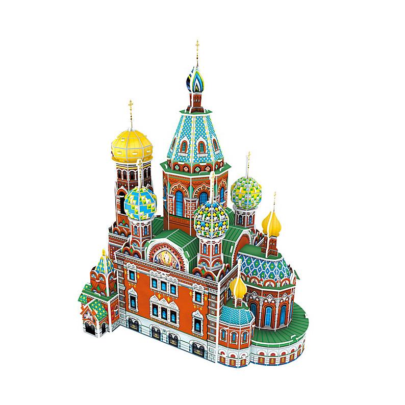 Набор игровой CubicFun (пазл) Собор Воскресения Христова (Россия)