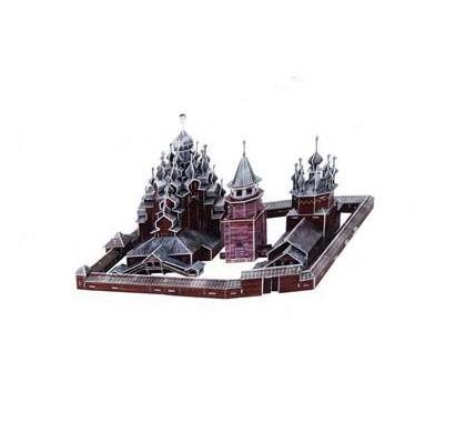 Набор игровой CubicFun (пазл) Кижи (Россия)