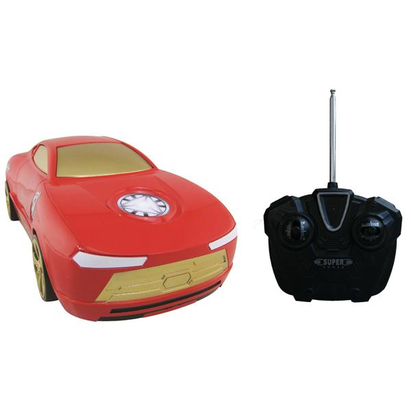 Радиоуправляемая модель Yellow машинка Мстители Железный человек