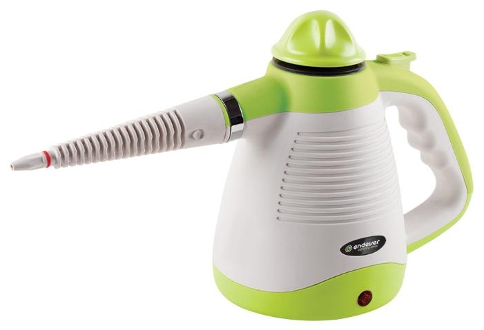 Пароочиститель-отпариватель ENDEVER Odyssey Q-430, белый/зеленый Q-430 белый/зеленый