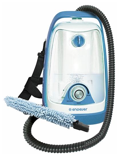 Пароочиститель-отпариватель ENDEVER Odyssey Q-602, белый/голубой Q-602 белый/голубой