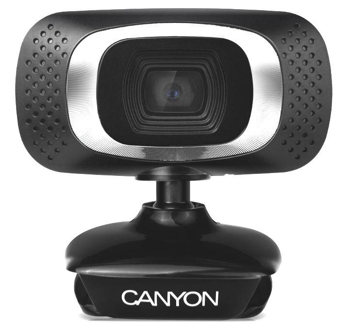 Web-камера Canyon CNE-CWC3 (2-12 Мп, 360°, USB) SUCNECWC3