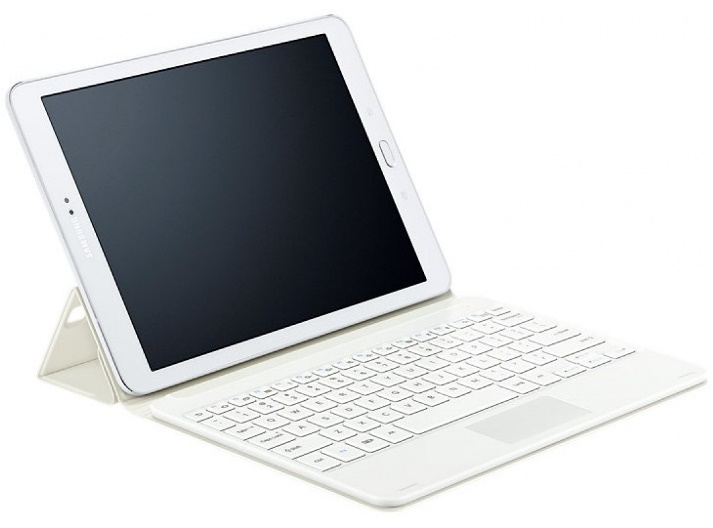 Клавиатура Samsung для Galaxy Tab S2 9.7, белая (EJ-FT810RWEGRU)