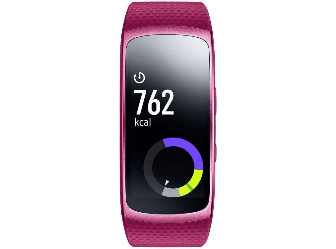 Фитнес-браслет Samsung Galaxy Gear Fit 2,Super AMOLED(SM-R3600ZIASER)розовый