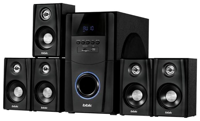 Комплект акустических систем BBK МА-880S, черный MA-880S
