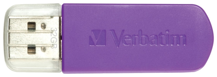 Usb-флешка Verbatim 8Gb Store n Go Mini Graffiti, пурпурная 98164