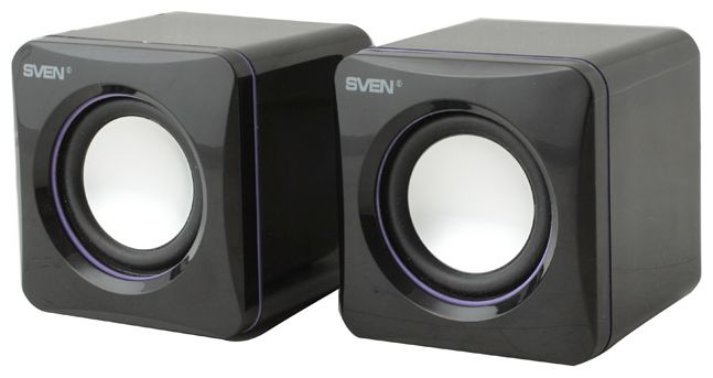 Компьютерная акустика Sven 315 2.0, черная SV-0110315BK
