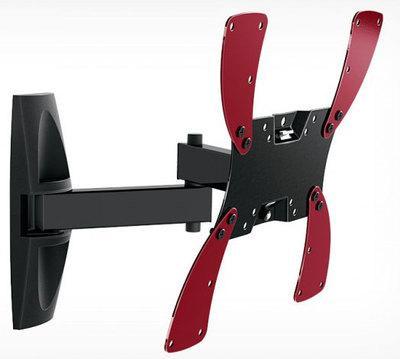 "Кронштейн Holder LCDS-5046 черный 10""-40"" макс.30кг настенный поворот и наклон"