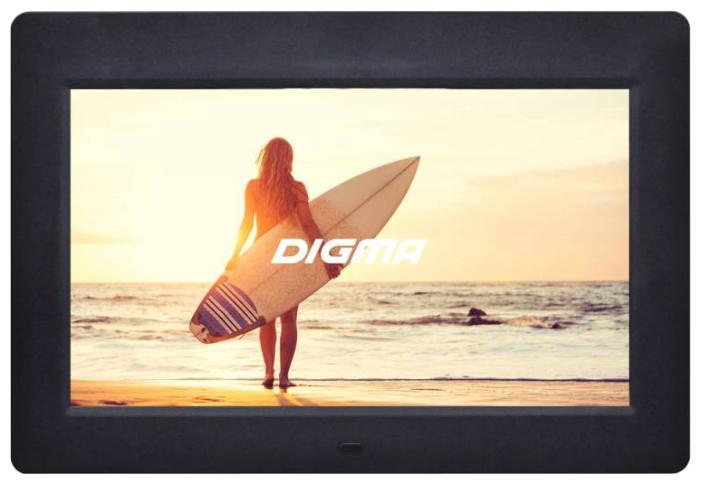 Цифровая фоторамка Digma PF-1033, черная PF1033BK
