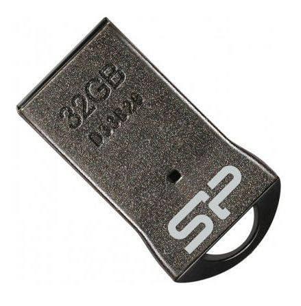 Usb-флешка Silicon-Power Touch T01 32Gb, серебристая SP032GBUF2T01V1K