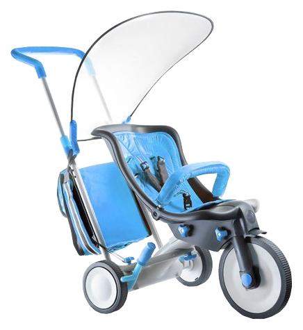 Трехколесный велосипед 3 в 1 Italtrike Evolution, синий