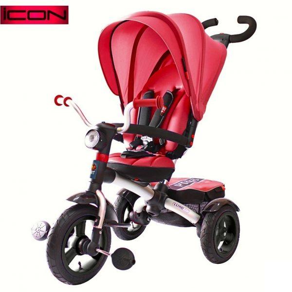 Трехколесный велосипед RT ICON 6 Luxe Aluminium cherry