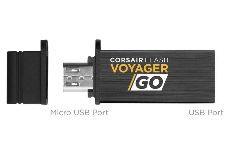 Usb-флешка Corsair Voyager GO CMFVG - EU, черный CMFVG-32GB-EU