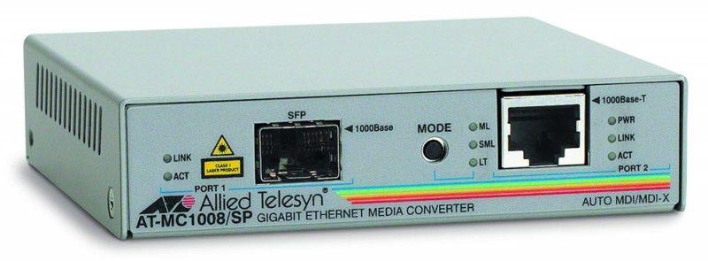 Медиаконвертер сетевой Allied-Telesis AT-MC1008/SP-60