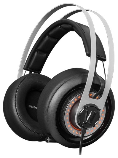 SteelSeries Siberia Elite World of Warcraft, черно-серебристая