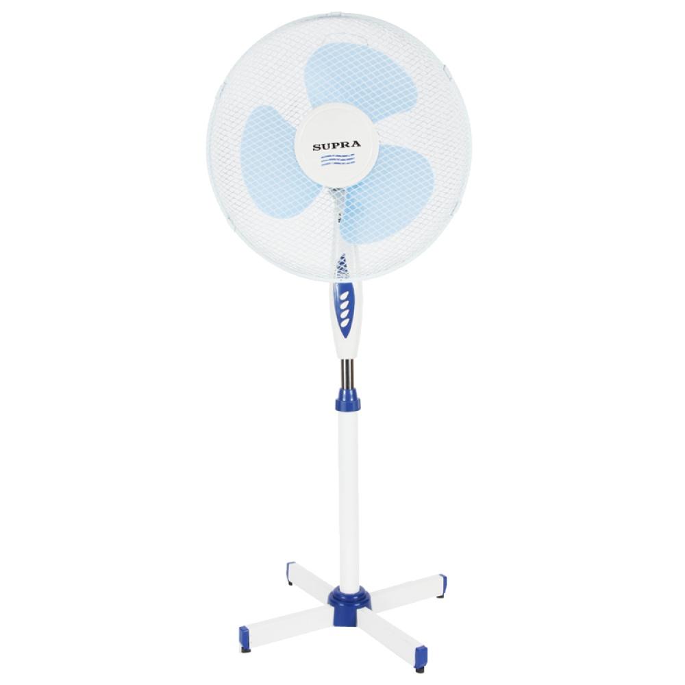 Вентилятор SUPRA VS-1615R, бело-синий VS-1615R white/blue