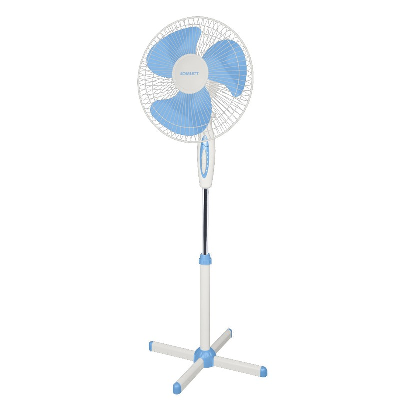 Вентилятор HOME-ELEMENT HE-FN1203 белый/голубой HE-FN1203 white/blue