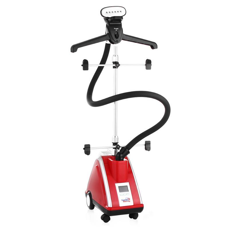 Пароочиститель-отпариватель Grand-Master GM-J205T, красный GM-J205T красный