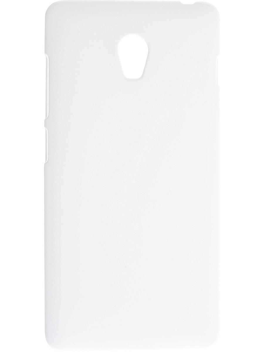 SkinBox 4People, для Lenovo Vibe P1, защитная пленка в комплекте, белый