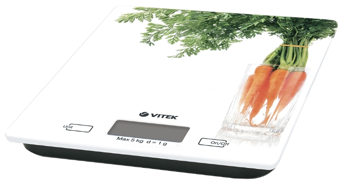 Кухонные весы Vitek VT-2418 белые