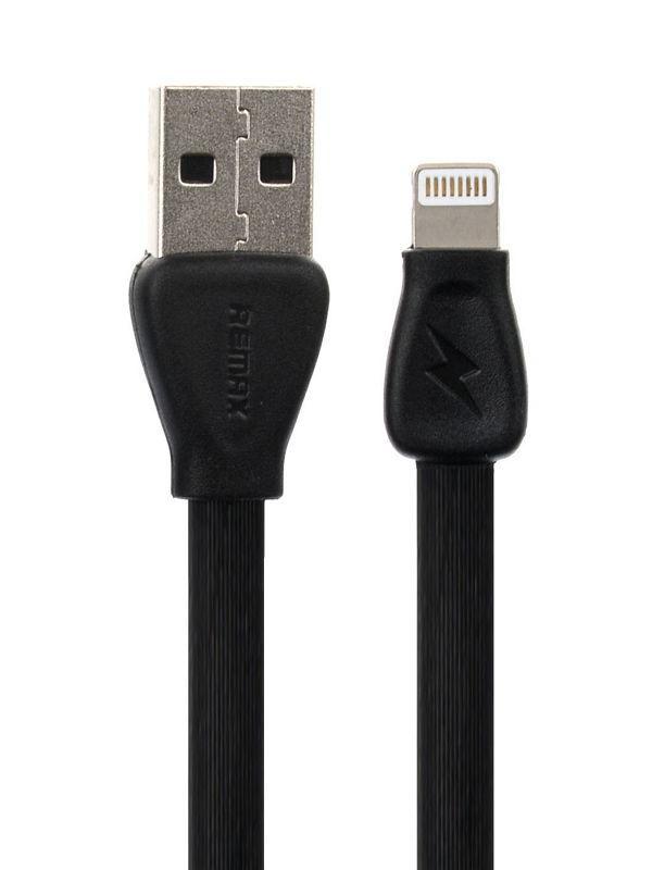 Кабель / переходник Remak Martin A-C-023 (USB (M) — Lightning (M)), чёрный A-C-0023