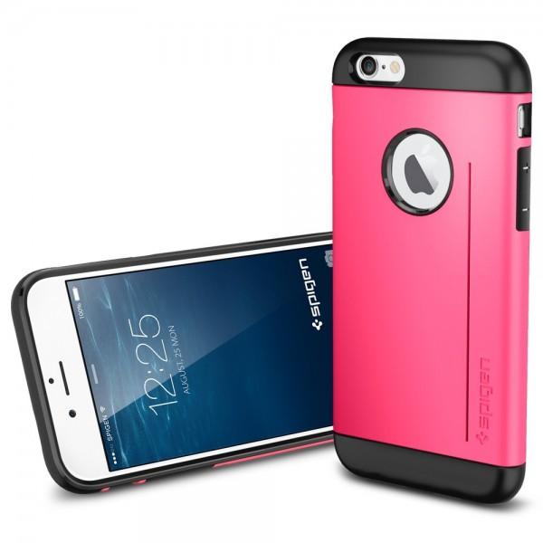 SGP Slim Armor S Case ��� iPhone 6, Azalea Pink