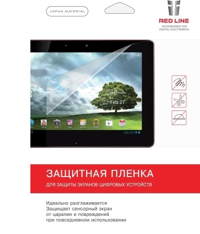 Защитная пленка для планшета Red-Line Red Line для Samsung Galaxy Tab S2 9.7 /T819, матовая UPG1041312