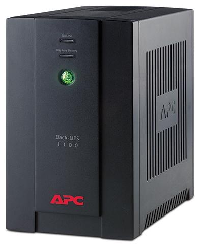 Источник бесперебойного питания APC Back-UPS 1100VA with AVR BX1100CI-RS