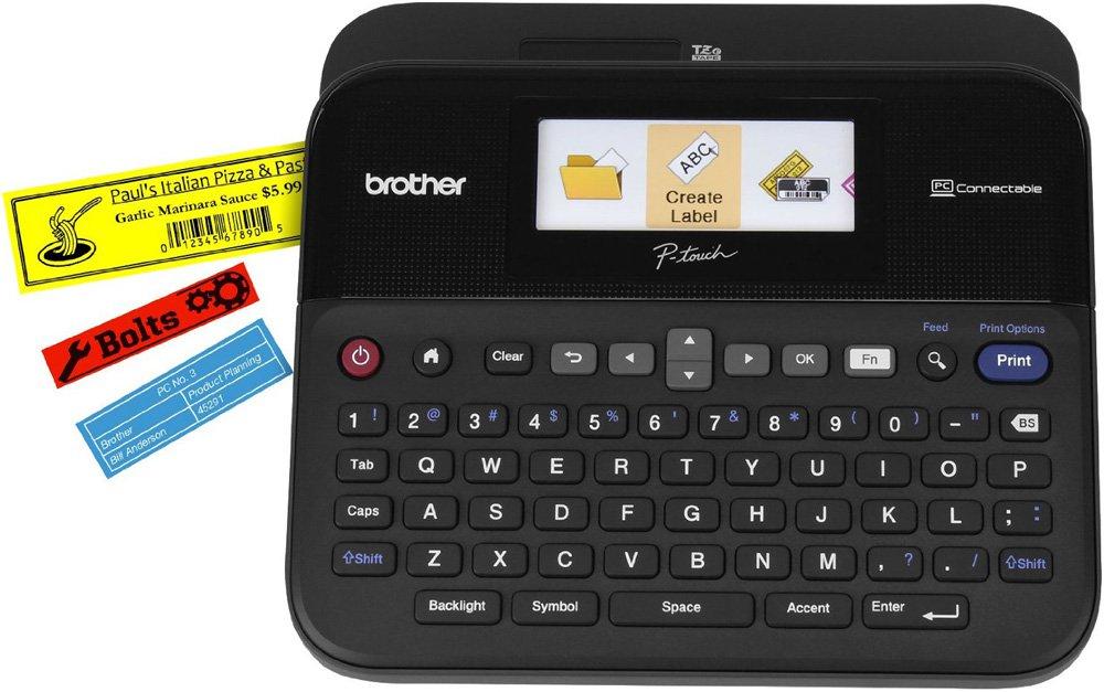 Принтер наклеек Brother P-touch PT-D600VP PTD600VPR1