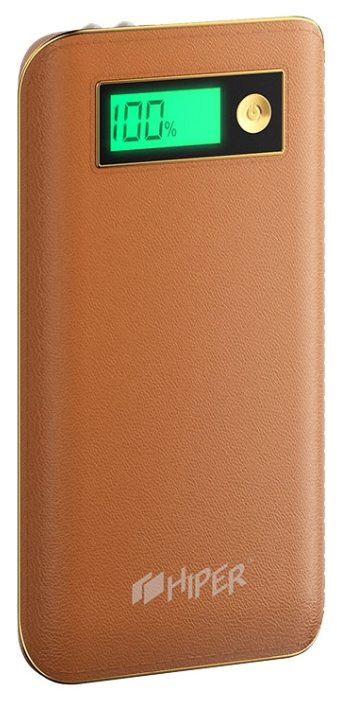 Аксессуар для телефона Hiper XPX6500, аккумуляор, 6500 мАч, 2.4 А, USB, коричневый XPX6500BROWN