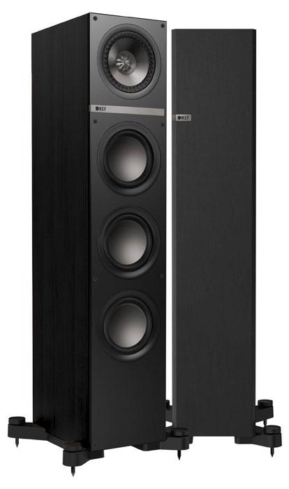 Акустическая система KEF Q500, чёрные Q500 Black