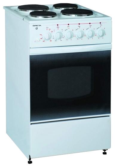 Плита GRETA 1470-Э исп. 06, белая 1470-Э исп. 06 белая