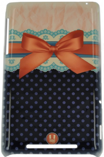 ������ E-cell ORANGE LACES AND RIBBONS BACK CASE