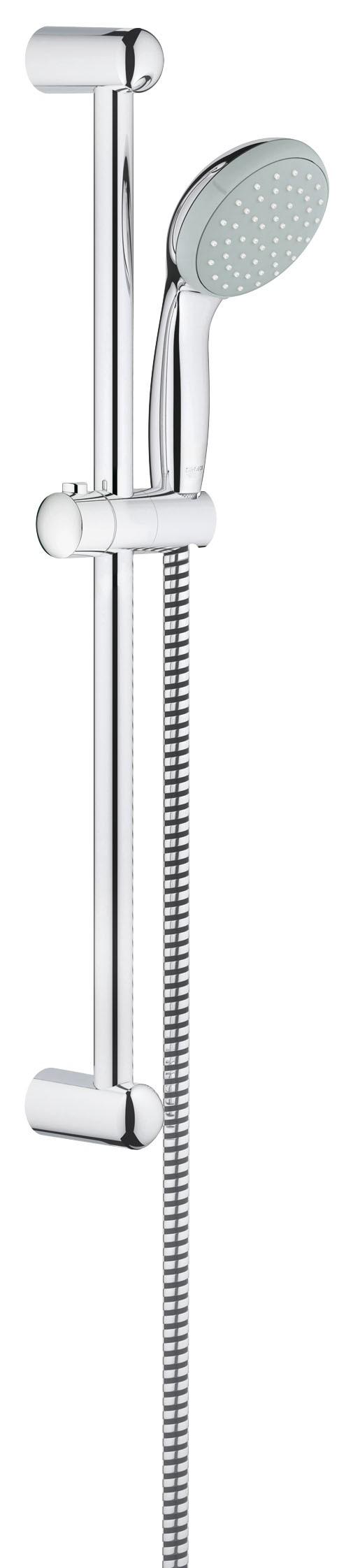 Душевой гарнитур Grohe 27924000 Tempesta Classic (ручной душ, штанга 600 мм, шланг 1750 мм), хром