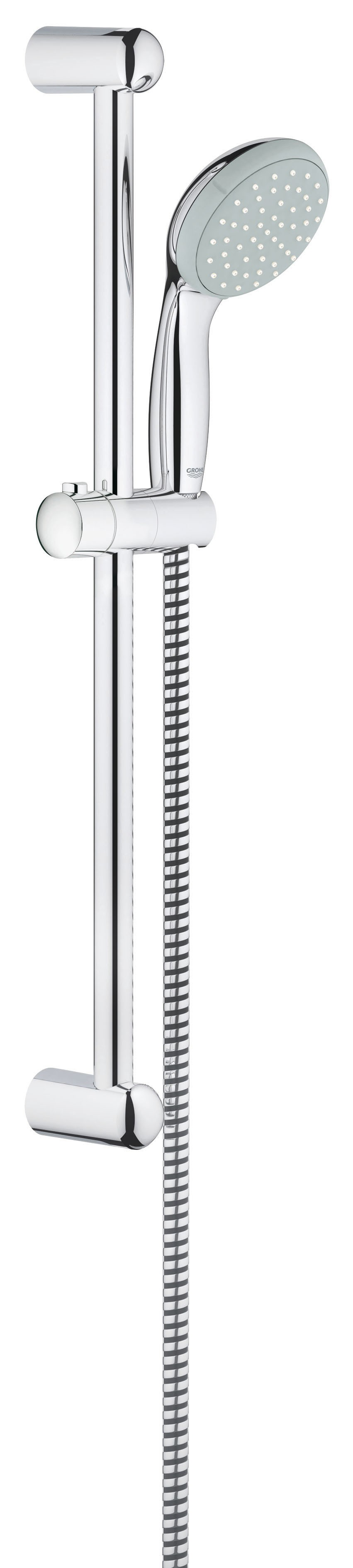 Душевой гарнитур Grohe 27853000 Tempesta Classic (ручной душ, штанга 600 мм, шланг 1750 мм), хром (27853000)
