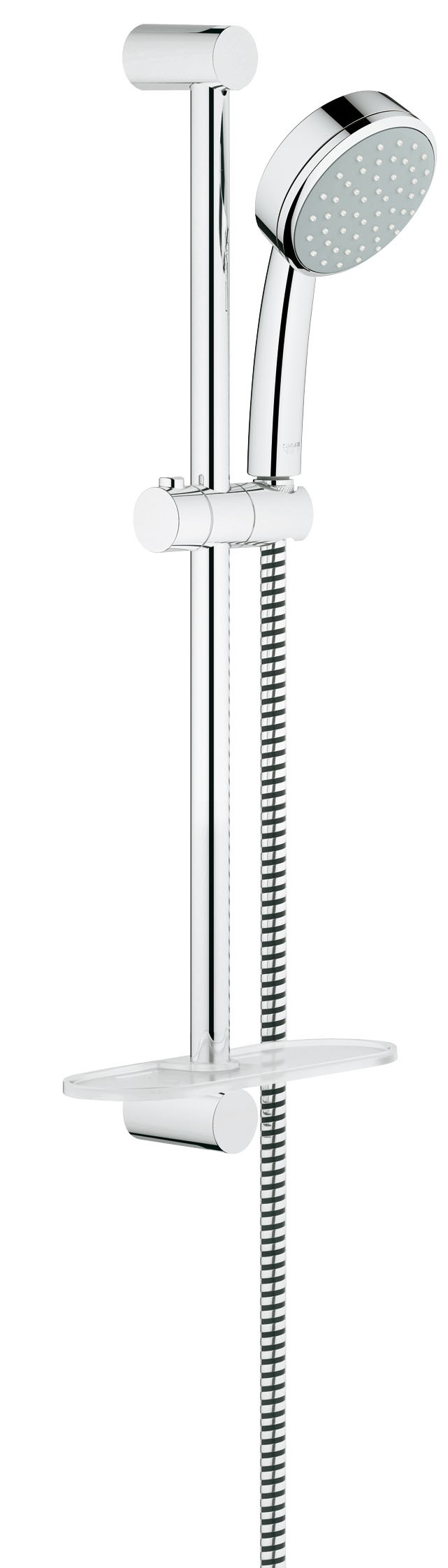 Душевой гарнитур Grohe 26083001 Tempesta Cosmopolitan (ручной душ, штанга 600 мм, шланг 1750 мм), хром