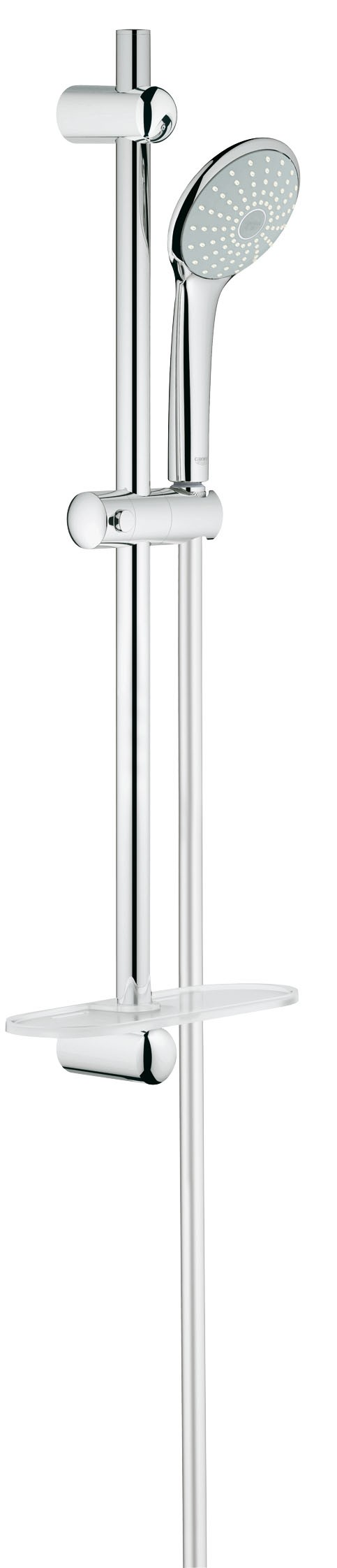 Душевой гарнитур Grohe 27266001 Euphoria (ручной душ, штанга 600 мм, шланг 1750 мм), хром