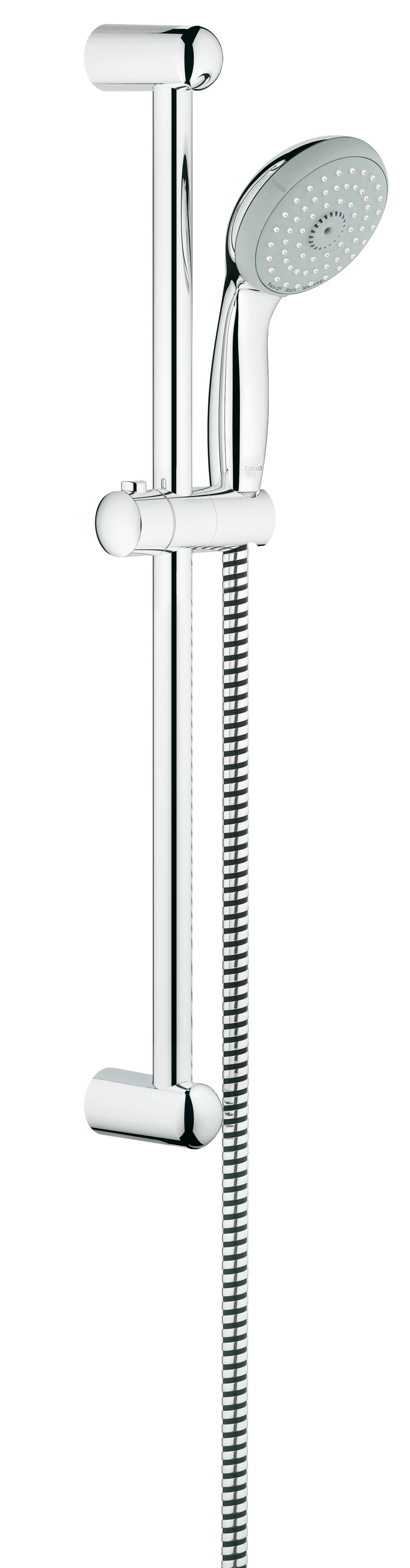 Душевой гарнитур Grohe 27794000 Tempesta Classic (ручной душ, штанга 600 мм, шланг 1750 мм), хром