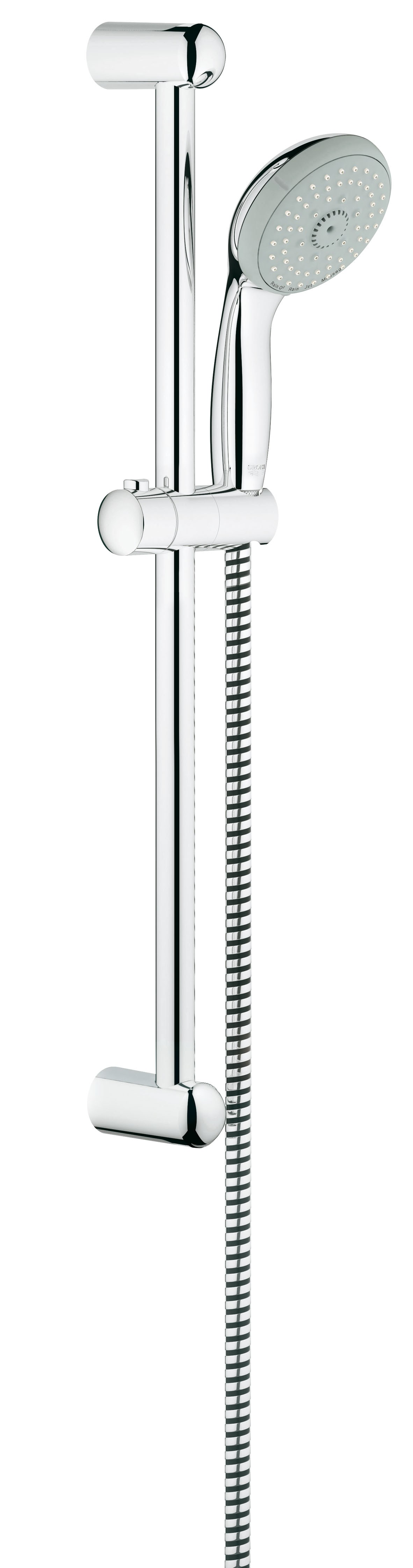 Душевой гарнитур Grohe 27795000 Tempesta Classic (ручной душ, штанга 600 мм, шланг 1750 мм), хром